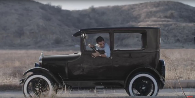 Frame from Sierra Club video, 'Tell Ford to Put Clean Cars in the Fast Lane,' Jan 2018