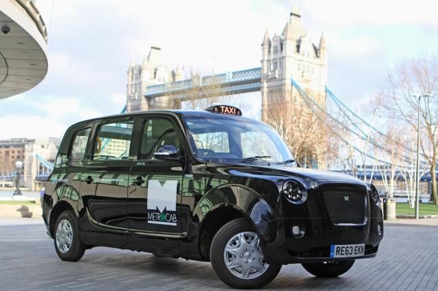 Frazer-Nash Metrocab range-extended London taxi