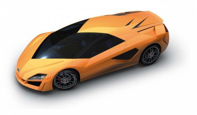Frazer-Nash Namir concept car