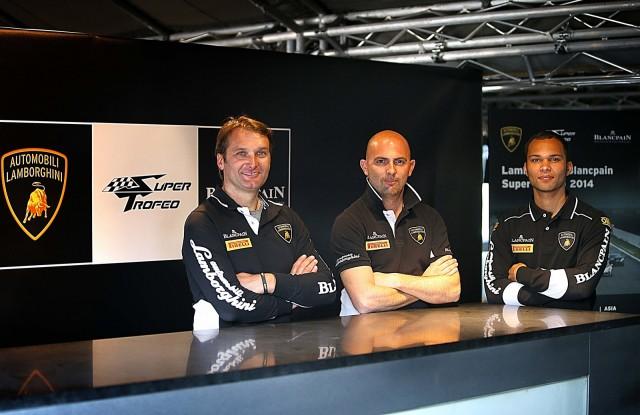 From left to right: Fabio Babini, Giorgio Sanna and Adrian Zaugg