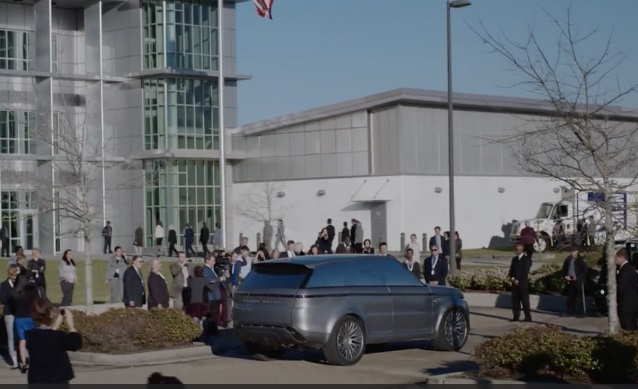 Land Rover creates future Range Rover Sport for Hulu show
