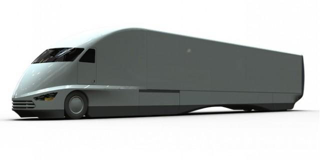 FutureTruck big rig concept. Image: Jeremy Singley