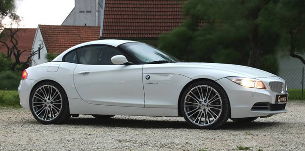 g power one of the first to tune bmw s new z4 roadster. Black Bedroom Furniture Sets. Home Design Ideas