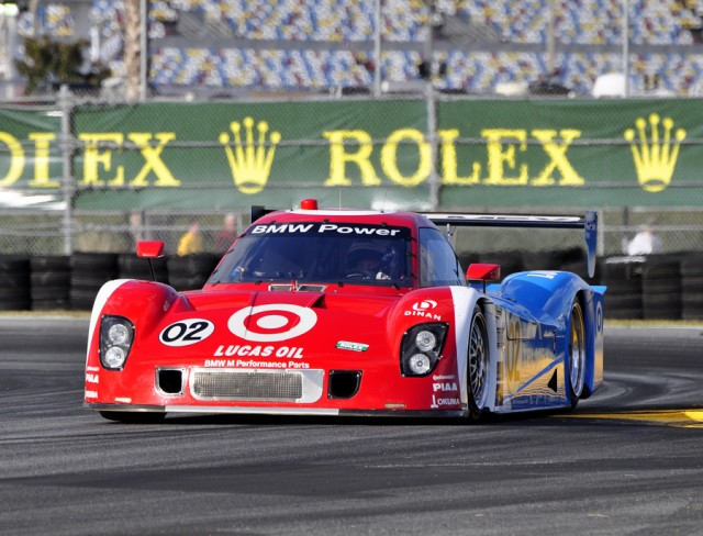 Ganassi's Riley/BMW No. 02 returns to action with NASCAR stars driving - Anne Proffit photo