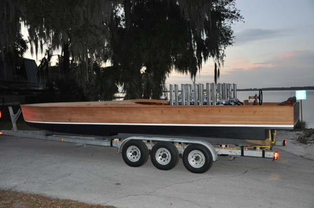 Gar Wood's Miss America VIII race boat. Image: Mecum Auctions