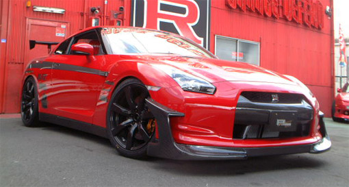 Garage Defend Nissan R35 GT-R aero-kit