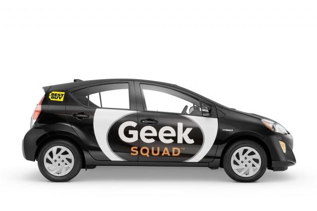 Geek Squad Toyota Prius C