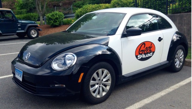 Geek Squad Volkswagen Beetle, by Flickr user Mike Mozart (Used under CC License)