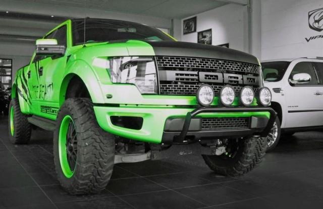 Geiger Cars Ford F-150 SVT Raptor 'The Beast'