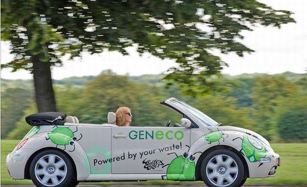 GENeco Bio-Bug, a Volkswagen Beetle powered by methane from human waste