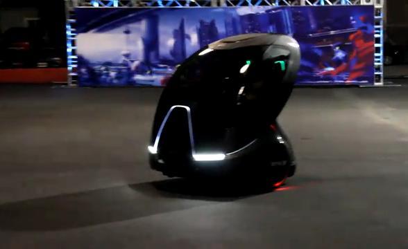 General Motors EN-V autonomous electric two-seat concept, 2010 Los Angeles Auto Show