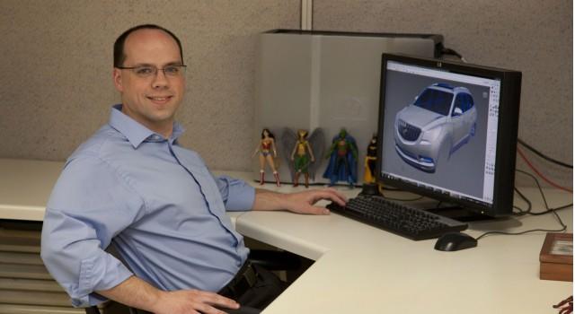 General Motors lead sculptor Nick Barkley