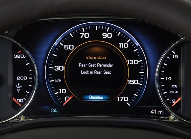 General Motors Rear Seat Reminder