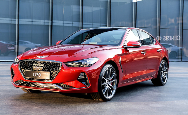 Genesis G70 will offer a six-speed manual