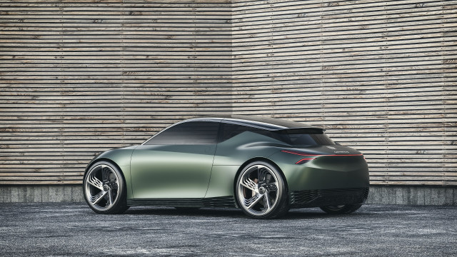 Genesis Mint concept for two-seat urban electric car