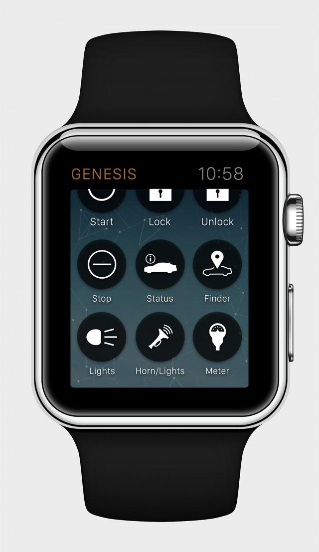 Genesis Smartwatch app