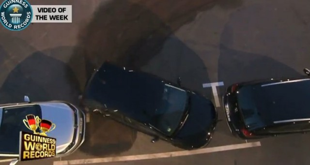 German driver sets new Guiness parallel parking record