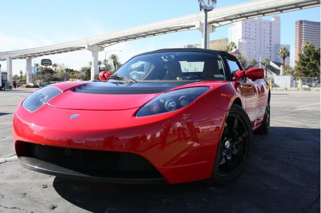 Getaround car sharing Tesla Roadster Sport