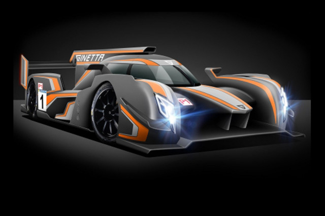 Ginetta's 2018-spec LMP1 prototype racecar designed for the 2018 World Endurance Championship