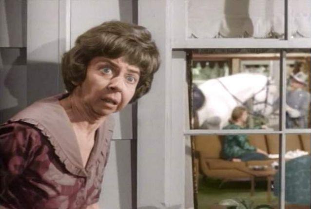 Gladys Kravitz, nosey neighbor