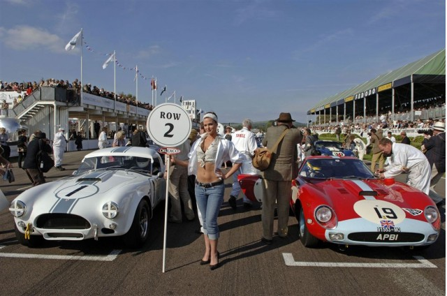Glamour on the grid (photo by Paul Melbert)