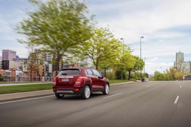 Global market Chevrolet Tracker