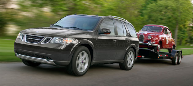The Saab 9-7X is one of the vehicles made at the Moraine, OH plant that will close Dec. 23