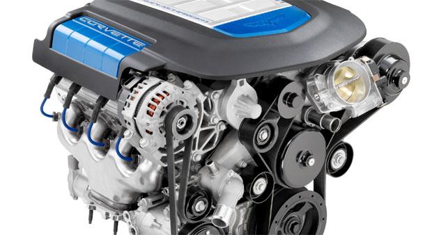 GM Chevrolet Corvette ZR-1 LS9 V8 engine
