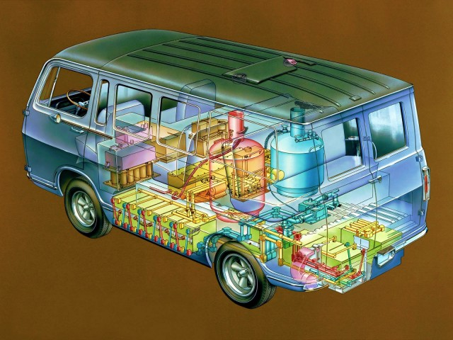 GM Electrovan fuel-cell prototype, 1966