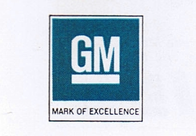 GM Mark of Excellence, circa 1970s