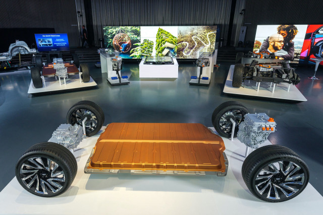 GM modular electric vehicle platform