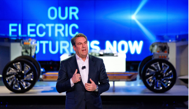 GM president Mark Reuss - Photo by Steve Fecht for General Motors