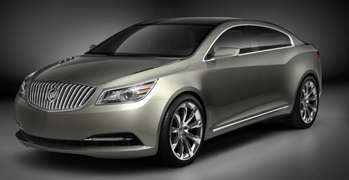 GM reveals new Buick Invicta Concept