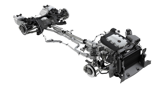 GM's RWD Zeta platform currently underpins cars like the Holden Commodore/Pontiac G8 and Chevrolet Camaro