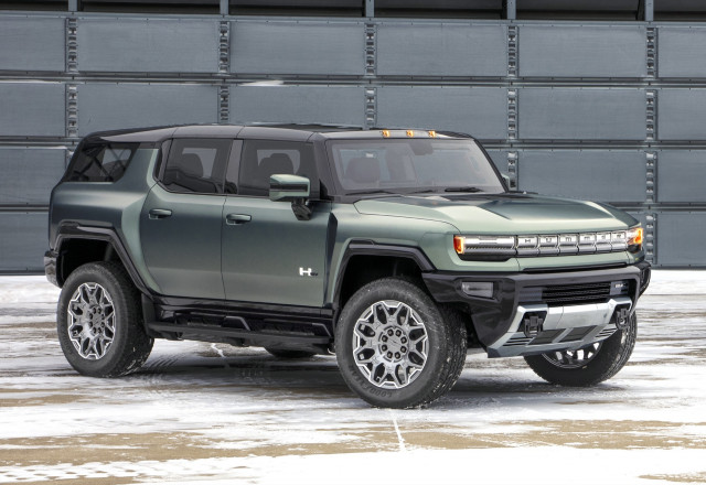 2024 GMC Hummer electric SUV ranges from $79,995 to $110,595