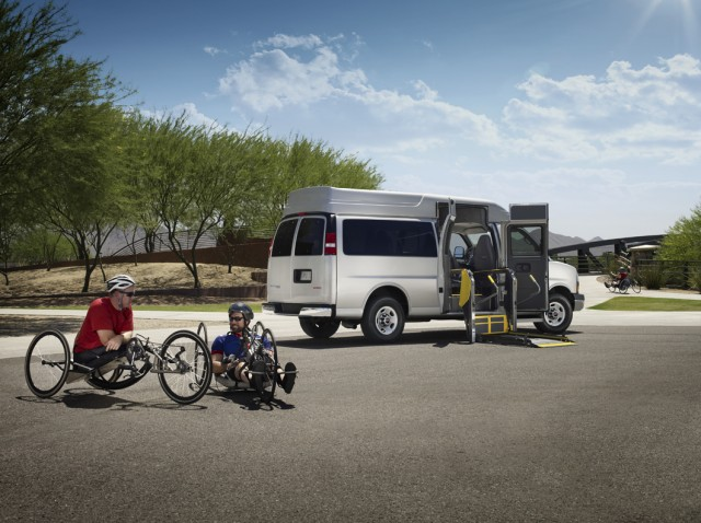 GMC Savana - adaptive equipment