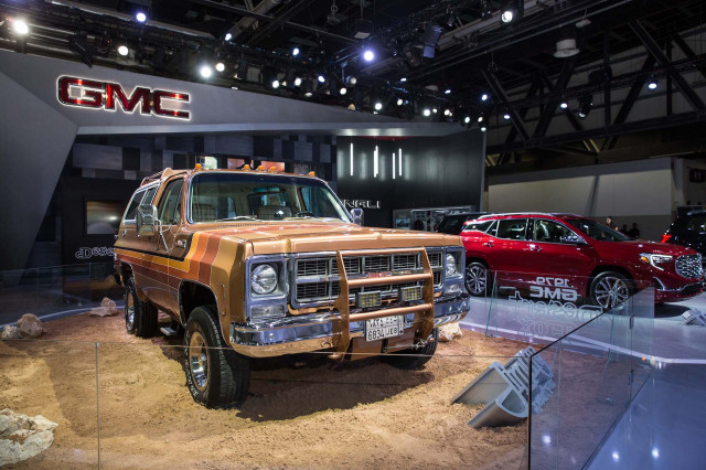 Gmc Desert Fox Sierra Concept Truck Is A Retro Off Roader