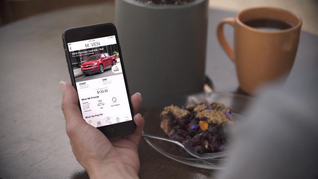 GM's Maven Peer Cars car sharing service