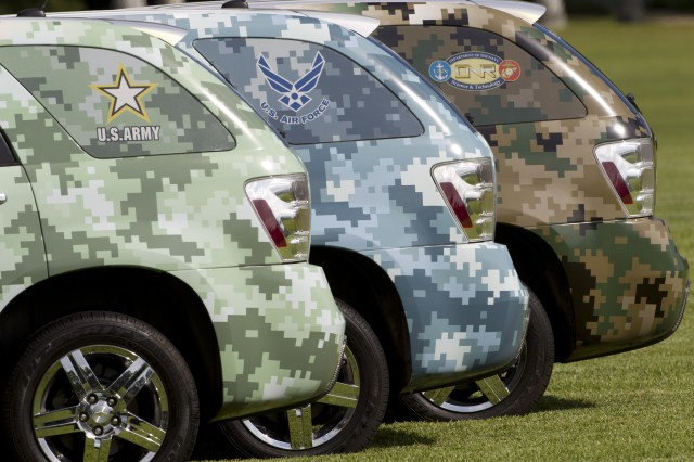 GM's military fuel cell fleet