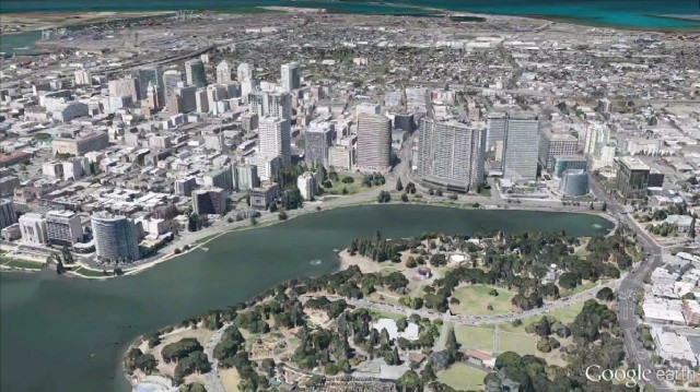 Google Maps in 3D
