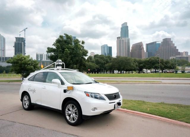 Google's autonomous Lexus RX450h