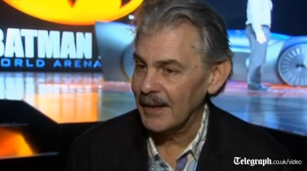 Gordon Murray describes his Batmobile