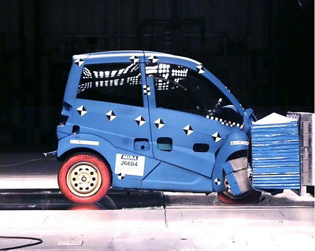 Gordon Murray T.27 crash test