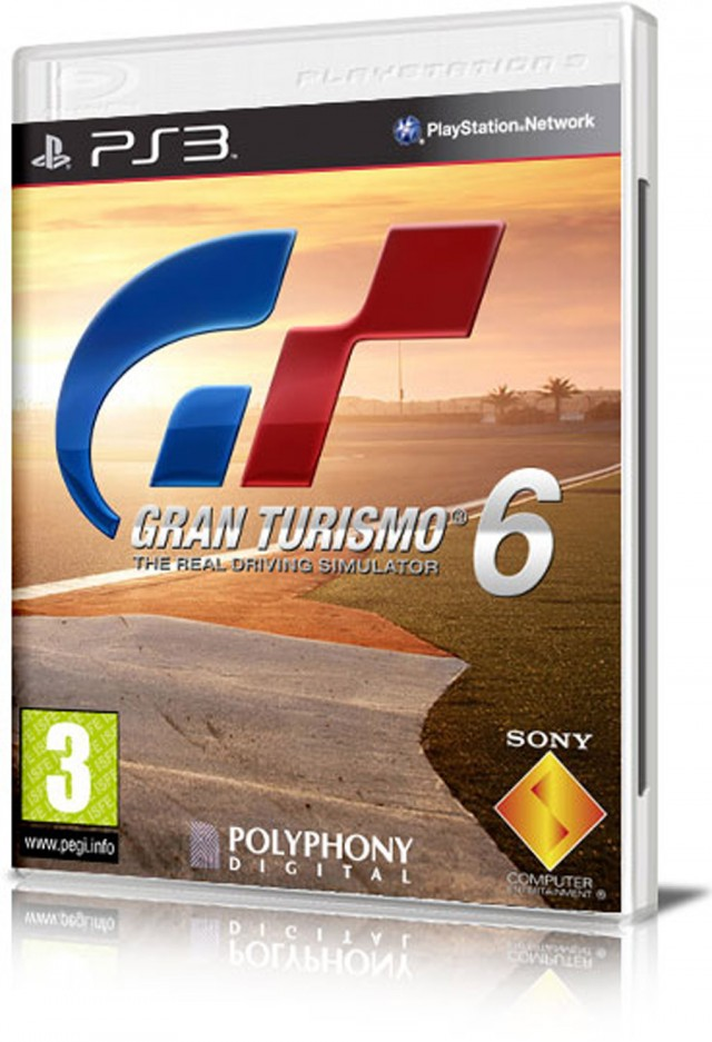 Gran Turismo 6 cover leaked - Image: Multiplayer.com
