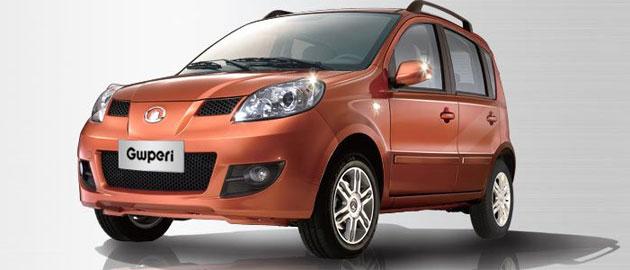 Great Wall Motors GWPeri minicar
