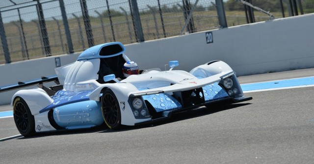 GreenGT H2 hydrogen fuel cell race car prototype