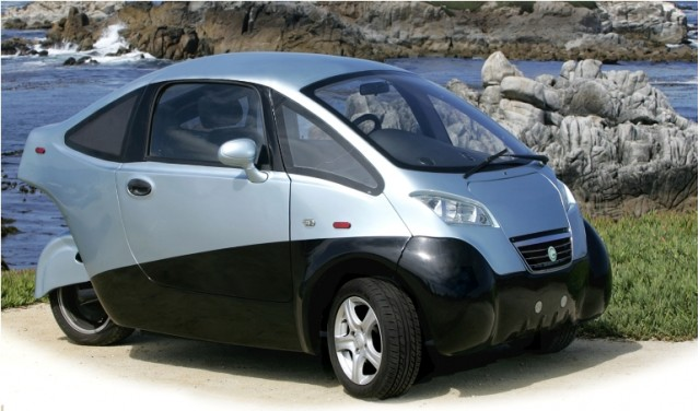 Triac Electric Car Three Wheels 100 Miles And 25 000