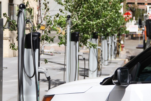 Curbside Electric Car Charging In Jersey City Highlights