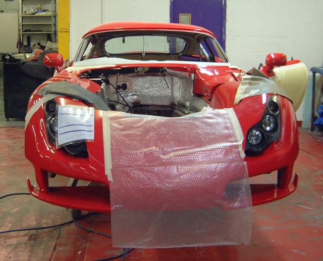 Grex Automotive Sagaris GT kit car