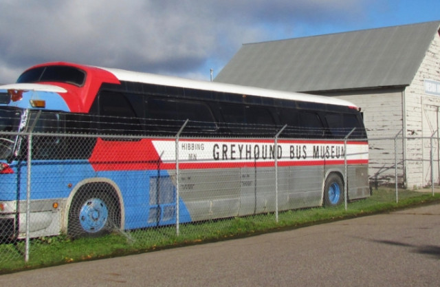 Greyhound bus museum -- Photos by Larry Edsall